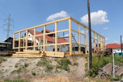 Stavba depa pokračuje